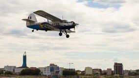 安托诺夫An-2 (PZL An-2) 免版税图库摄影