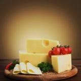 安排用开胃乳酪 库存照片