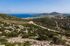 安提帕罗斯岛,希腊 库存图片