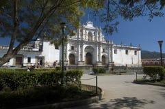 安提瓜岛大教堂危地马拉jose ・圣 免版税图库摄影
