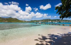 安提瓜岛探险 免版税图库摄影