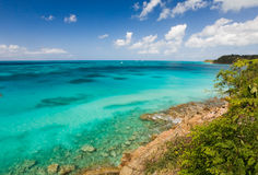 安提瓜岛探险 免版税库存图片