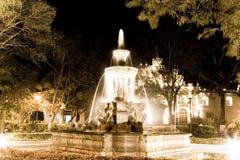 安提瓜岛晚上 免版税库存照片