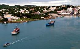 安提瓜岛海岛 免版税库存图片