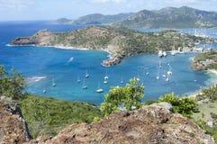 安提瓜岛风景 免版税库存照片