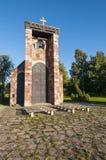 安斯加尔教堂Bjorko瑞典 库存照片