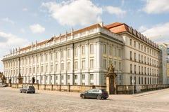 安斯巴赫住所城堡 免版税库存图片