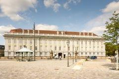 安斯巴赫住所城堡 库存图片