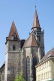 安斯巴赫教会johannis st 库存图片