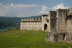 安杰拉城堡 图库摄影