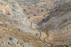 安特克拉山, MÃ ¡ laga,西班牙 自然区域 库存图片