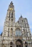 安特卫普比利时我们大教堂的夫人 免版税库存图片