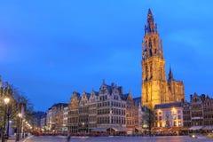 安特卫普比利时 免版税图库摄影