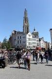 安特卫普比利时 库存照片