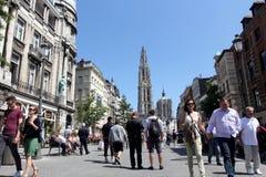 安特卫普比利时 免版税库存照片