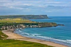 安特里姆海岸北的爱尔兰 免版税图库摄影