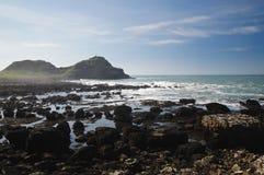安特里姆海岸 免版税库存图片