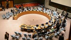 安理会房间联合国 股票录像