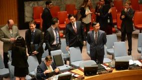 安理会房间联合国 影视素材