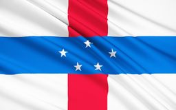 安的列斯群岛标志荷兰 皇族释放例证