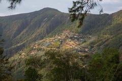 安第斯山脉的看法 免版税库存照片