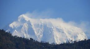 安纳布尔纳峰山 库存图片