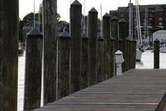 安纳波利斯小游艇船坞 免版税库存照片