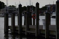 安纳波利斯小游艇船坞 免版税库存图片