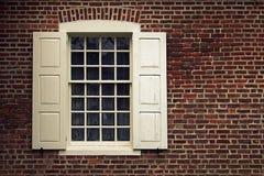 安纳波利斯马里兰窗口 免版税图库摄影
