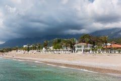 安置一个海滩假日 库存图片