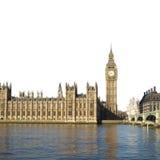 安置伦敦议会 库存照片