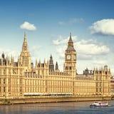 安置伦敦议会 免版税库存图片