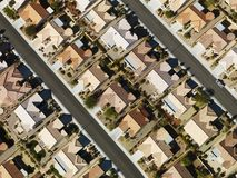 安置住宅郊区 库存图片