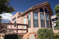 安置制作的活动房屋 免版税库存图片