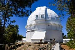 安置历史100英寸望远镜的圆顶在1917 (完成);Mt威尔逊,圣加百利山,洛杉矶县, 库存图片