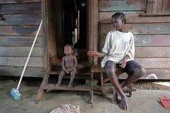安置和居住在民间邻里拉图尔, Su 库存照片