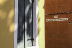 安置威尼斯 库存照片