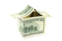 安置挣的货币 免版税库存图片
