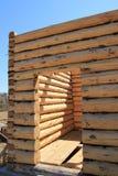 安置木 免版税图库摄影