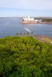 安置歌剧悉尼 免版税库存图片