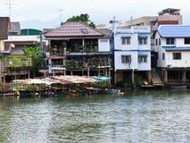 安置河沿 免版税库存照片