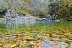 安置知道名叫Olla de圣维森特在多布拉河 库存图片