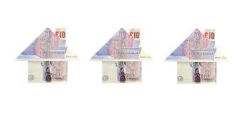 安置货币 免版税库存图片