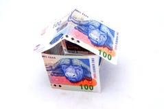 安置货币 图库摄影