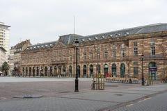 安置Kléber,史特拉斯堡,法国 免版税库存照片