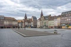 安置Kléber,史特拉斯堡,法国 免版税库存图片