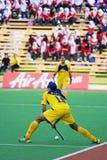 安置s的2009个第3个亚洲杯子曲棍球人 免版税库存图片
