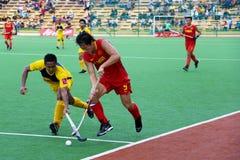 安置s的2009个第3个亚洲杯子曲棍球人 免版税图库摄影