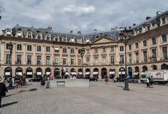 安置Vendome巴黎 免版税库存照片