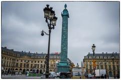 巴黎 安置vendome 免版税库存照片